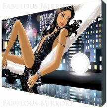 Hed Kandi By Night Cocktail Canvas Art - NEW - Choose your size - Ready to Hang